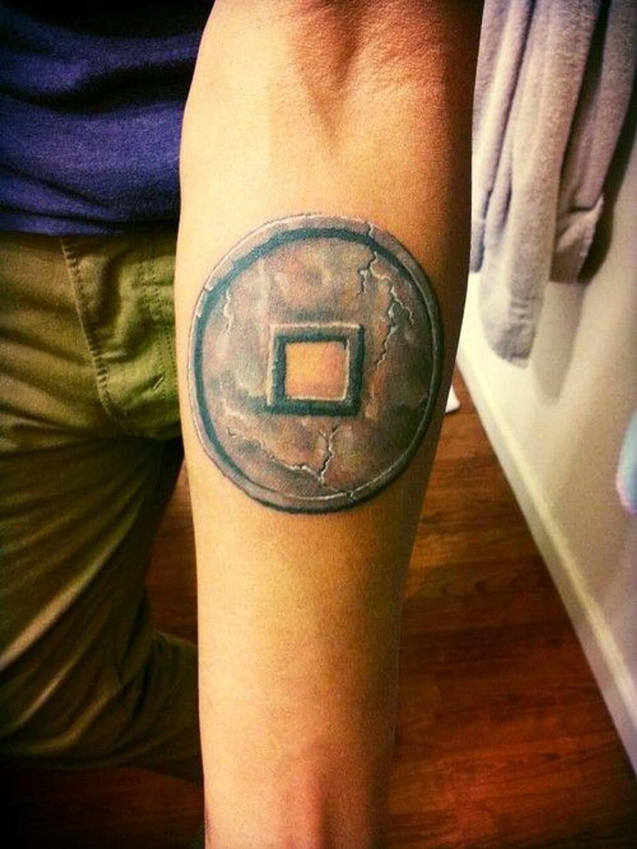 This Earth Kingdom Forearm Tat is listed (or ranked) 4 on the list 26 Incredible Tattoos Inspired by Avatar: The Last Airbender