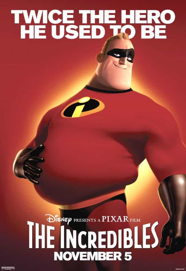 Mr. Incredible is listed (or ranked) 1 on the list The Best Overweight Characters in Comics