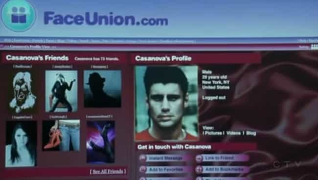 Face Union is listed (or ranked) 1 on the list The Best Fake Websites from Law & Order: SVU