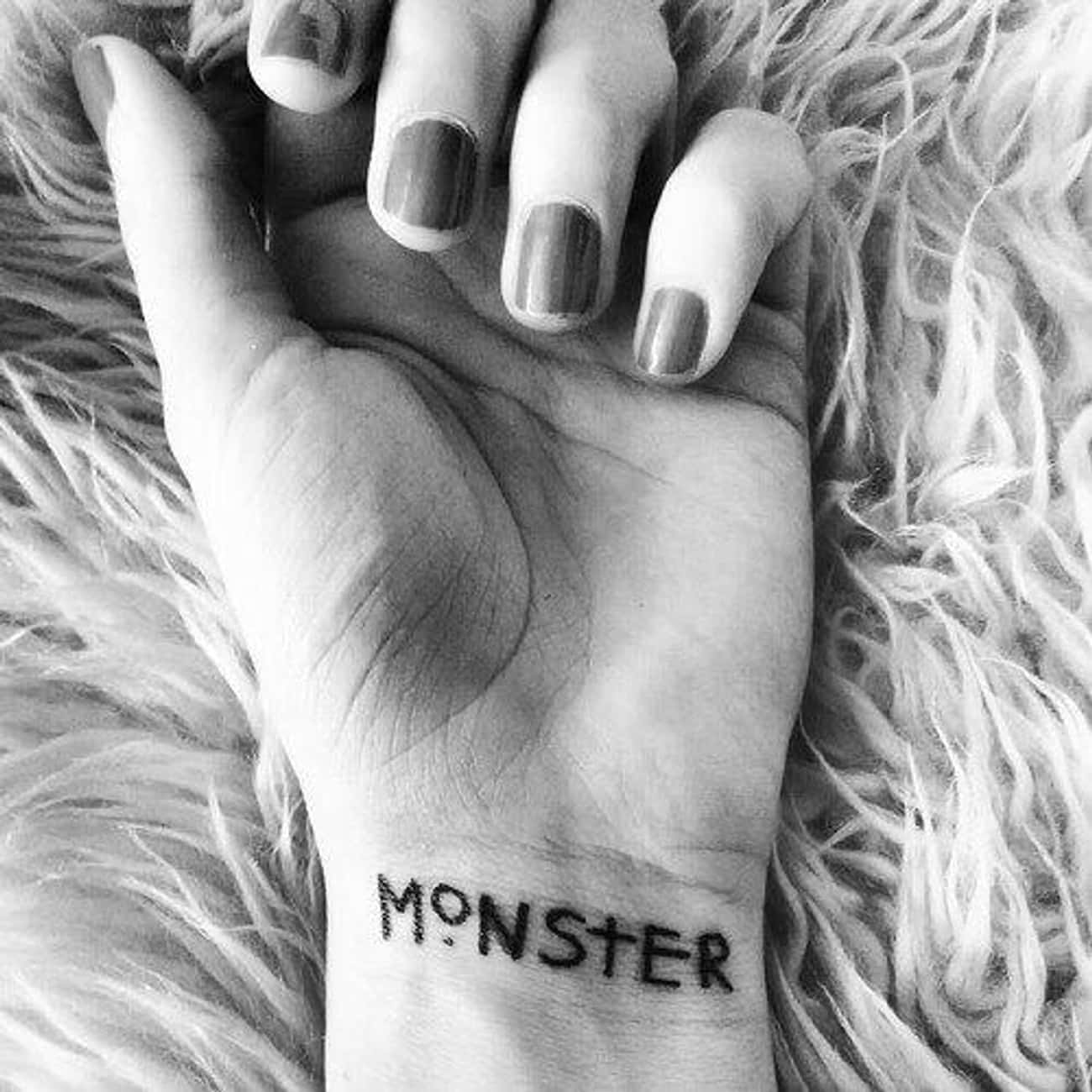This Subtle Reminder of Your I is listed (or ranked) 3 on the list 25 Incredible Tattoos Inspired by American Horror Story