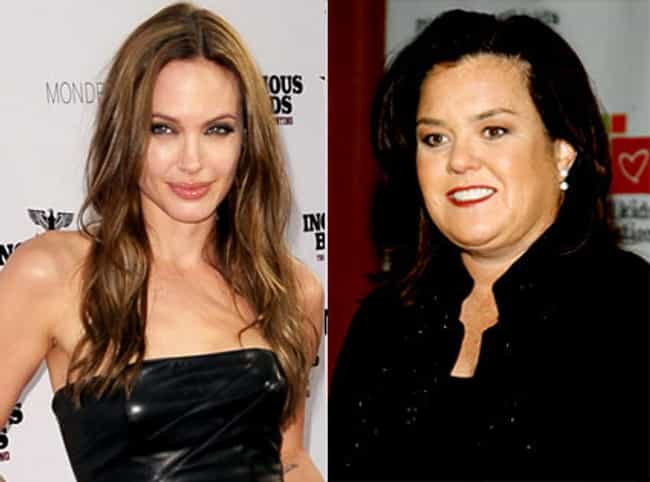 She Almost Dated Rosie O'Donne... is listed (or ranked) 4 on the list Fun Facts You Didn't Know About Angelina Jolie