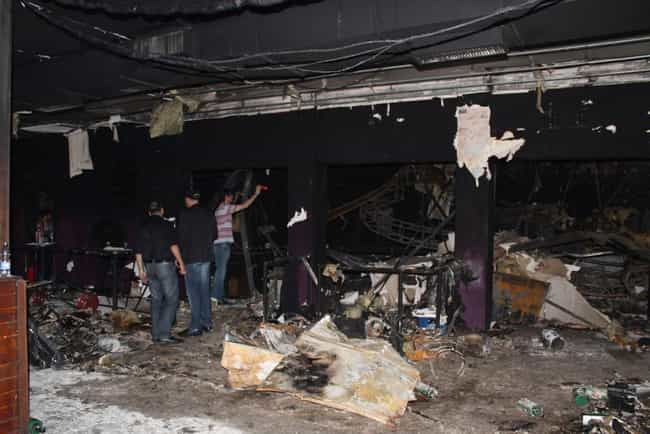 2013 Kiss Nightclub Fire is listed (or ranked) 2 on the list The Worst Human Stampedes