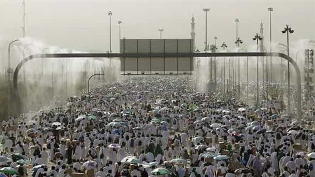 2004 Jamarat Bridge Stampede is listed (or ranked) 4 on the list The Worst Human Stampedes
