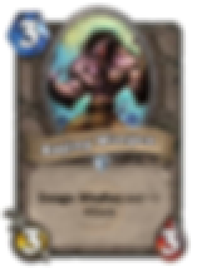 Raging Worgen is listed (or ranked) 2 on the list The Best Enrage Cards in Hearthstone
