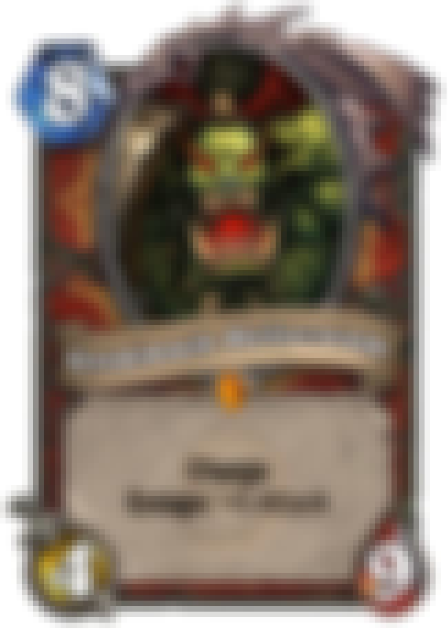 Grommash Hellscream is listed (or ranked) 1 on the list The Best Enrage Cards in Hearthstone