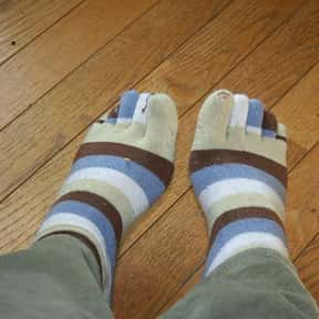 Wear Toe Socks is listed (or ranked) 4 on the list The Best Ways to Deal With Stinky Feet
