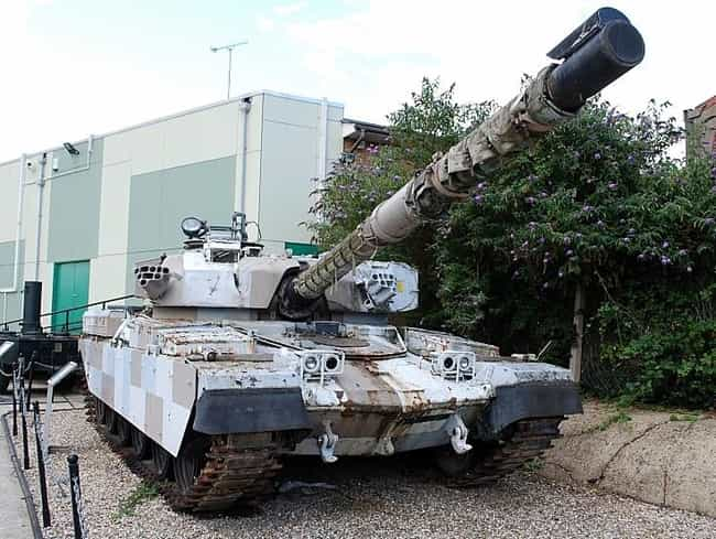 Chieftain Mk10 is listed (or ranked) 4 on the list 20 Military Vehicles You Can Actually Own