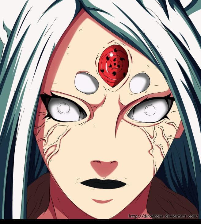 Otsutsuki Kaguya on Random Most Powerful Anime Characters