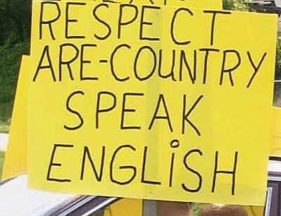 Random Misspelled Signs Held by People Who Love English