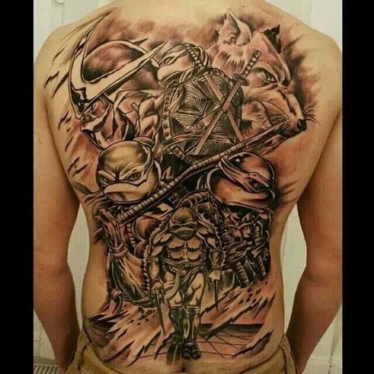 Teenage Mutant Ninja Turtles Tattoo Ideas Cool Tattoos Inspired