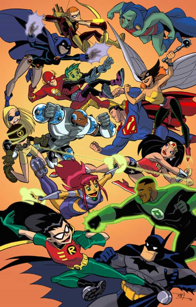 The DC Animated Universe is listed (or ranked) 3 on the list The Best Ways To Get Young Kids Into Comics