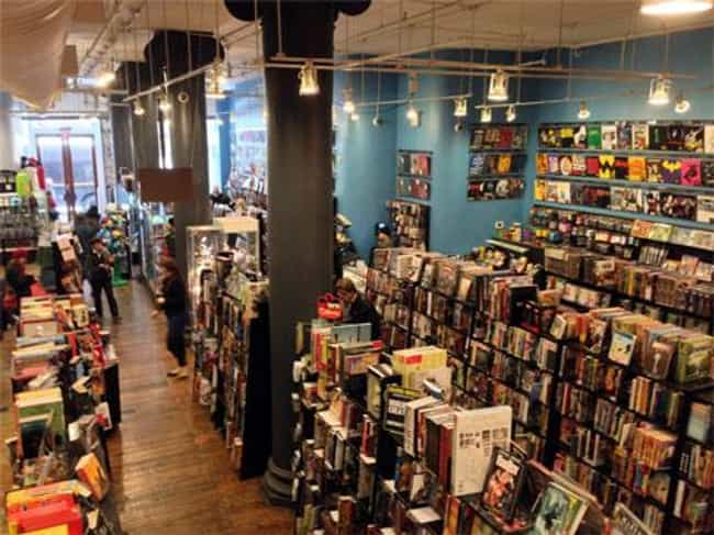 Visit a Comic Book Store with ... is listed (or ranked) 2 on the list The Best Ways To Get Young Kids Into Comics