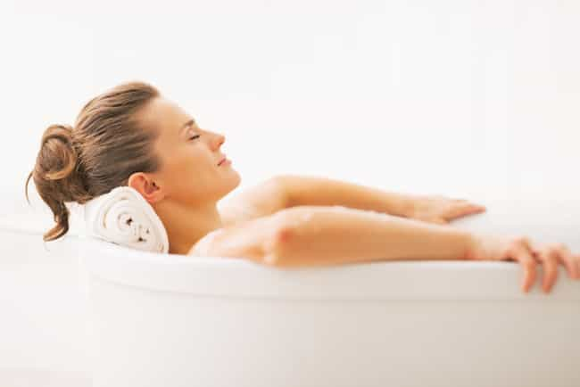 Turn on Relaxing Music is listed (or ranked) 1 on the list How to Turn Your Lame Bath into an Epic Spa Experience