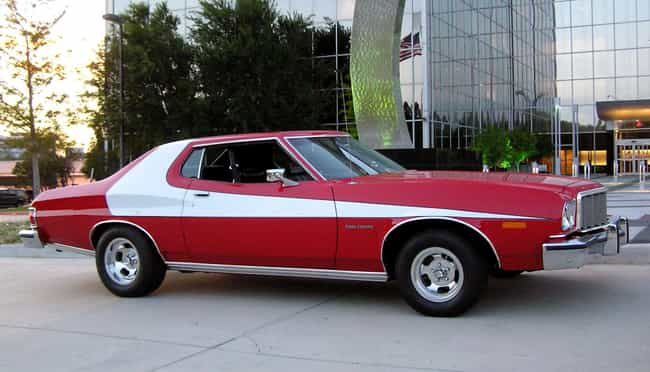 Ford Gran Torino - Starsky and... is listed (or ranked) 1 on the list The Coolest TV Cop Cars