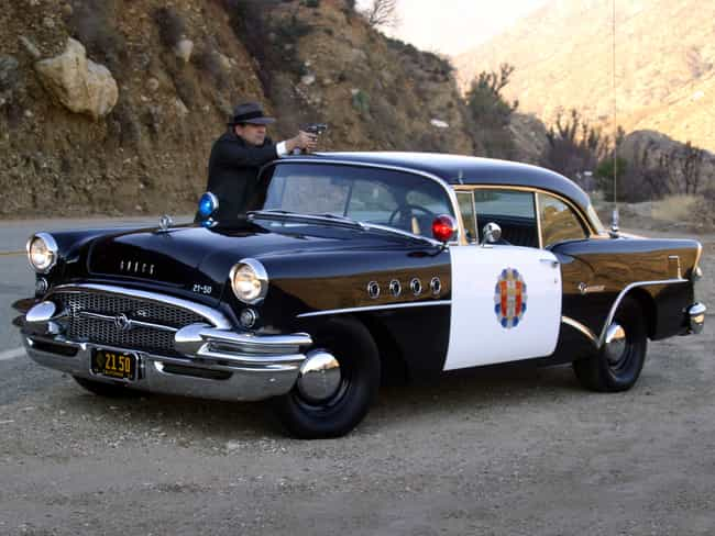 Buick Century - Highway Patrol is listed (or ranked) 4 on the list The Coolest TV Cop Cars