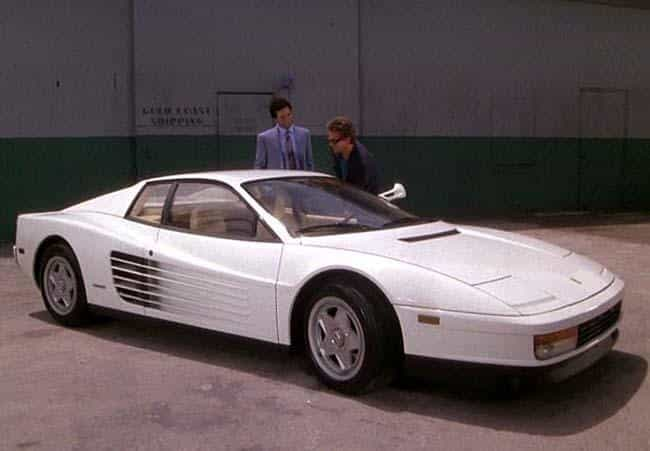 Ferrari Testarossa - Miami Vic... is listed (or ranked) 3 on the list The Coolest TV Cop Cars
