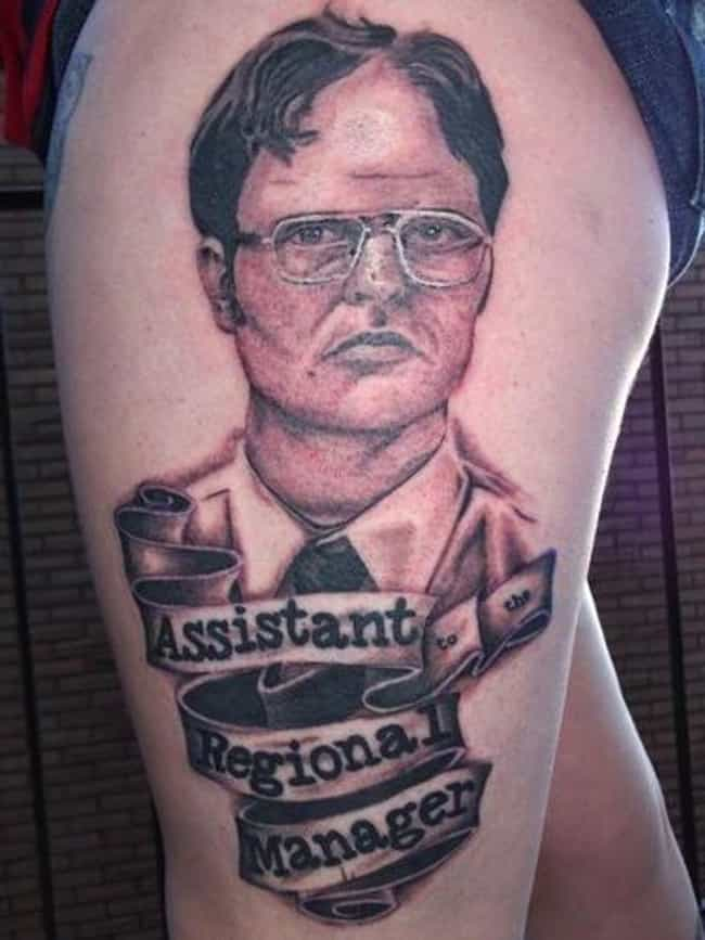 The Ink Speaks the Truth... &#... is listed (or ranked) 4 on the list 21 Incredible Tattoos Inspired by The Office