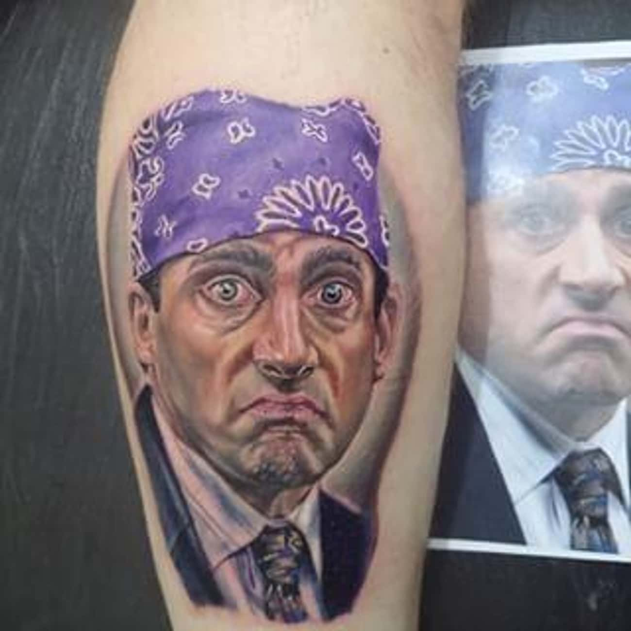 """""""The Worst Thing About Pri is listed (or ranked) 4 on the list 21 Incredible Tattoos Inspired by The Office"""