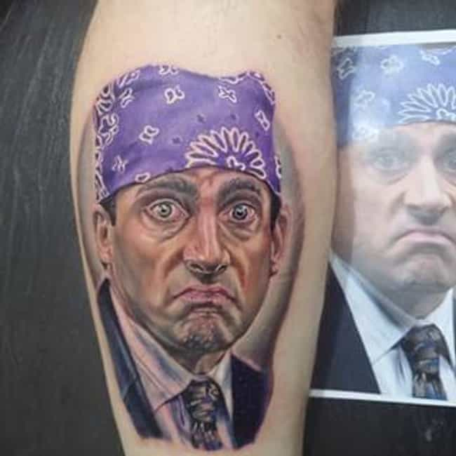 Cool Tattoos Inspired By The Office