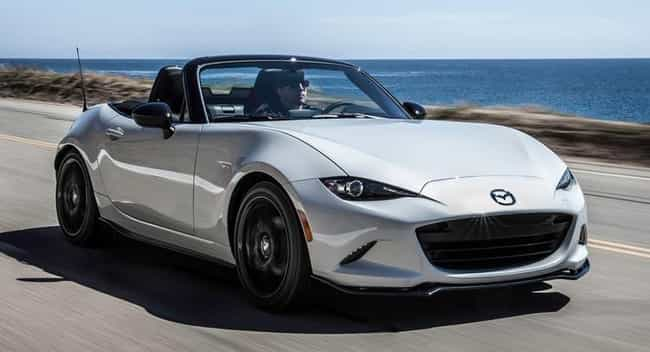 Mazda Miata is listed (or ranked) 4 on the list The Best Road Trip Cars