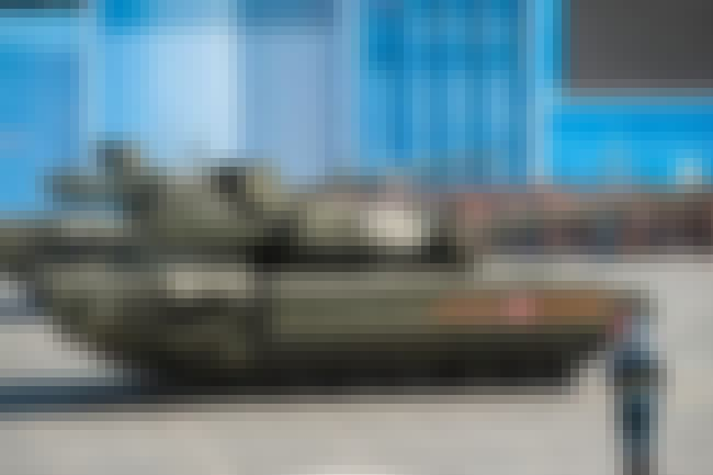 T-14 Armata Main Battle Tank is listed (or ranked) 4 on the list The Best Modern Battle Tanks