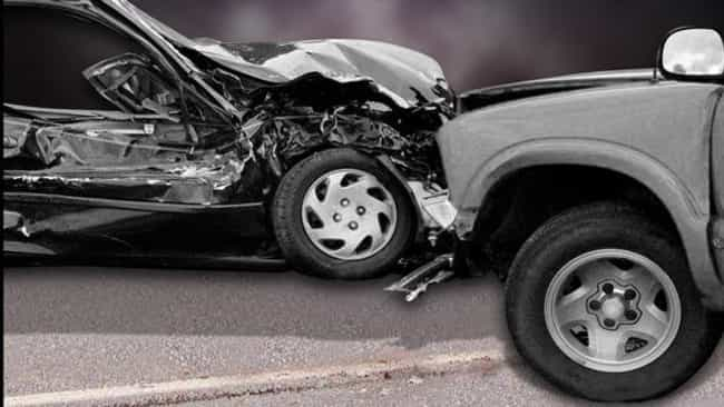 Car Crash Kills Two - Airbags... is listed (or ranked) 4 on the list The Craziest Deaths of 2015