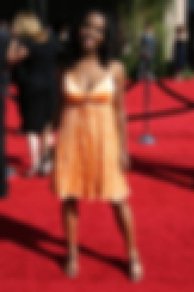 Dana Davis in her orange dress is listed (or ranked) 4 on the list Hot Dana Davis Pics