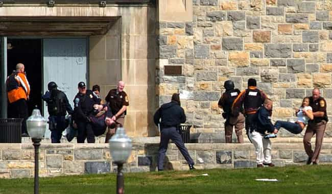 Virginia Tech - 2007 is listed (or ranked) 1 on the list The Deadliest School Shootings in U.S. History