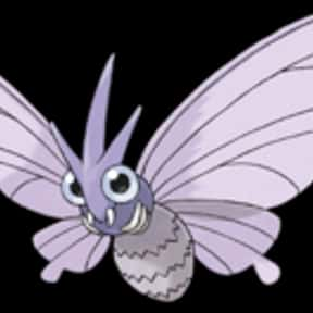 Venomoth is listed (or ranked) 17 on the list The Best Bug Pokemon of All Time
