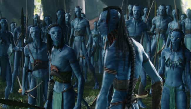 Na'vi is listed (or ranked) 4 on the list Fictional Languages You Can Actually Learn To Speak