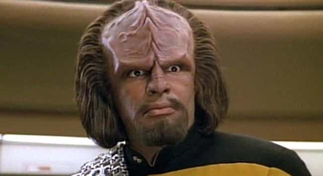 Klingon is listed (or ranked) 1 on the list Fictional Languages You Can Actually Learn To Speak
