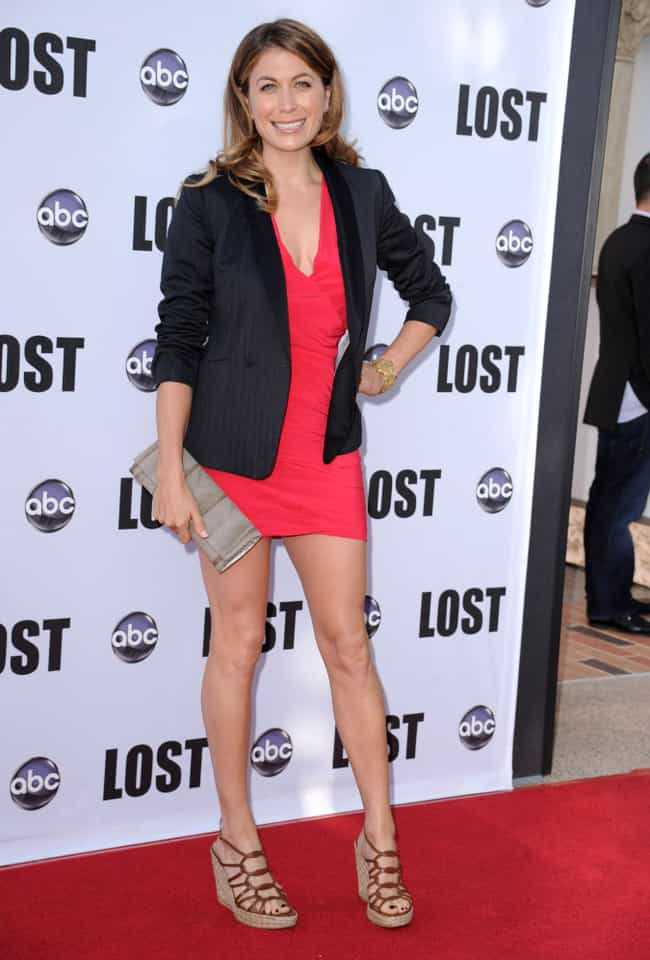 Sonya Walger at ABC's &#34... is listed (or ranked) 4 on the list The Most Stunning Sonya Walger Photos