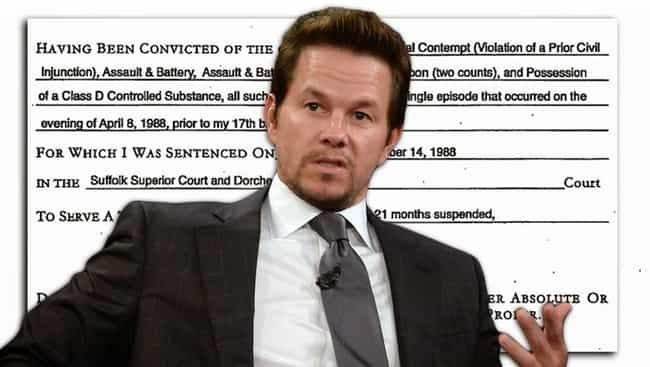 He's Trying to Get an Offi... is listed (or ranked) 1 on the list Fun Facts You Didn't Know About Mark Wahlberg