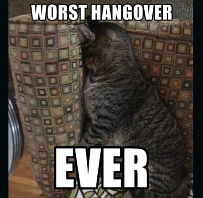 20 Very Real Thoughts You Have While You're Hungover at Work