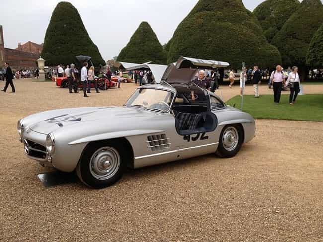 Mercedes-Benz 300SL (Original) is listed (or ranked) 2 on the list The Slickest Cars with Gull Wing Doors