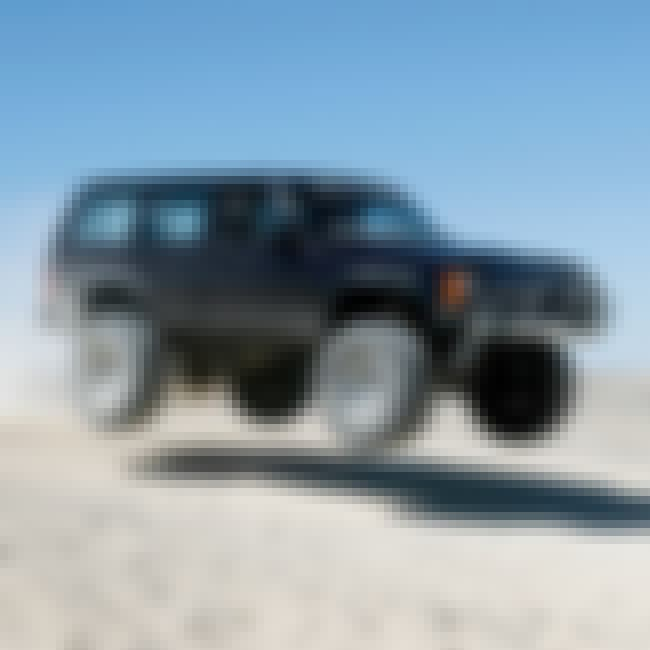 Jeep Cherokee XJ is listed (or ranked) 3 on the list The Best Cars for the Post-Apocalyptic Wasteland