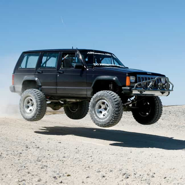 Jeep Cherokee XJ is listed (or ranked) 2 on the list The Best Cars for the Post-Apocalyptic Wasteland