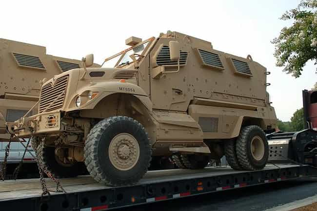 MRAP is listed (or ranked) 1 on the list The Best Cars for the Post-Apocalyptic Wasteland