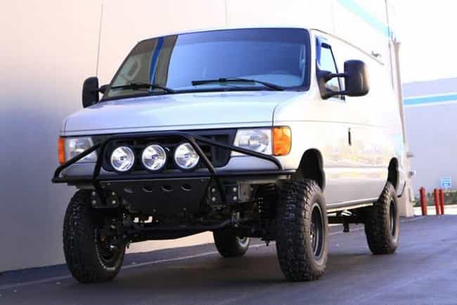 Ford E250 Van is listed (or ranked) 4 on the list The Best Cars for the Post-Apocalyptic Wasteland