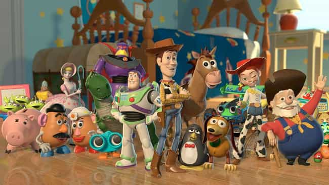 90% of the Toy Story 2 F... is listed (or ranked) 2 on the list 32 Fun Facts About the Toy Story Movies