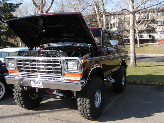 Full-Sized Bronco is listed (or ranked) 4 on the list The Best Off-Road Trucks on Four Wheels