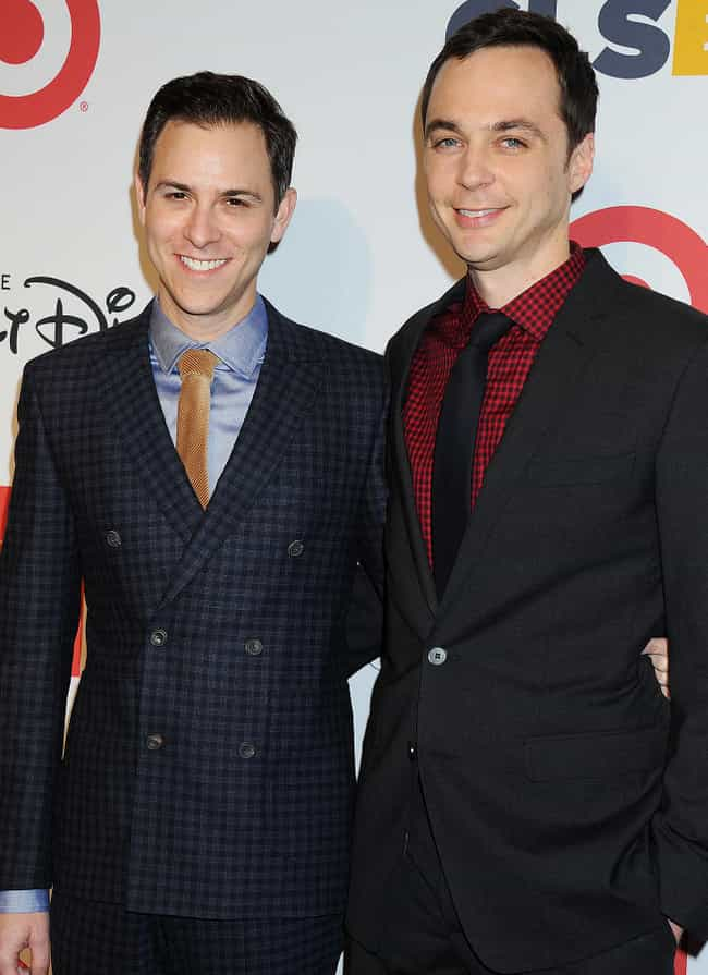 Jim Parsons and Todd Spi... is listed (or ranked) 4 on the list The Coolest Same-Sex Male Power Couples