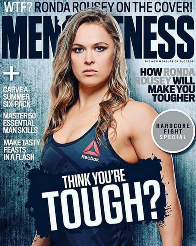 She Was the First Woman ... is listed (or ranked) 3 on the list 22 Hardcore Facts About Ronda Rousey