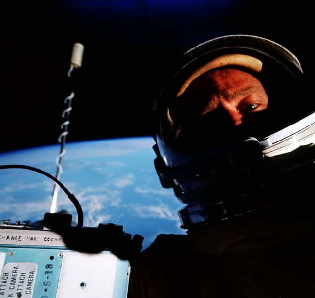 Buzz Aldrin Snapped the First ... is listed (or ranked) 2 on the list The Best Space Selfies