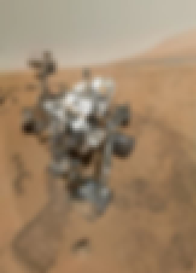 The Curiosity Rover Got Creati... is listed (or ranked) 4 on the list The Best Space Selfies