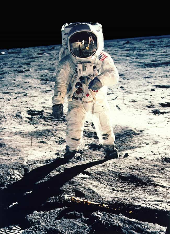 Neil Armstrong Took This Shot ... is listed (or ranked) 1 on the list The Best Space Selfies