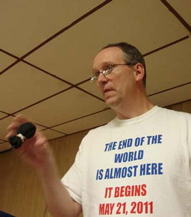 eBible Fellowship Predicts the is listed (or ranked) 1 on the list The 15 Greatest End of the World Prophecy FAILs