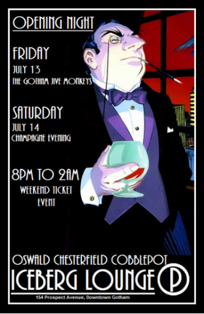 The Iceberg Lounge is listed (or ranked) 3 on the list Comic Book Bars Where You'd Like to Get a Drink