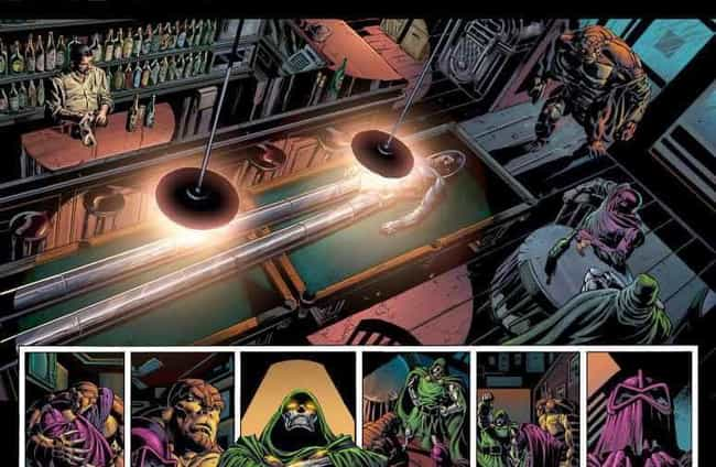 The Bar with No Name is listed (or ranked) 4 on the list Comic Book Bars Where You'd Like to Get a Drink