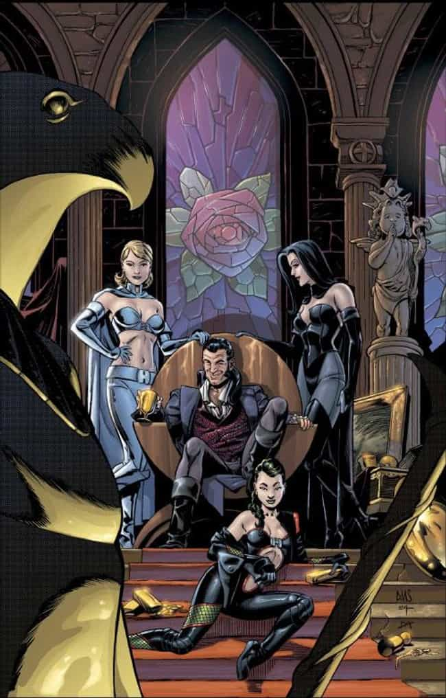 The Hellfire Club is listed (or ranked) 1 on the list Comic Book Bars Where You'd Like to Get a Drink